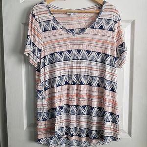 Multi Patterned Tshirt